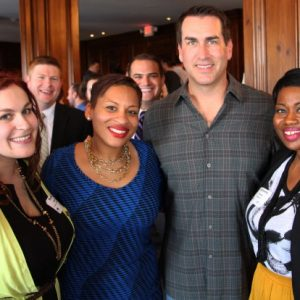 Rob Riggle KC Mayor's Office and Kaleena James from Visit KC